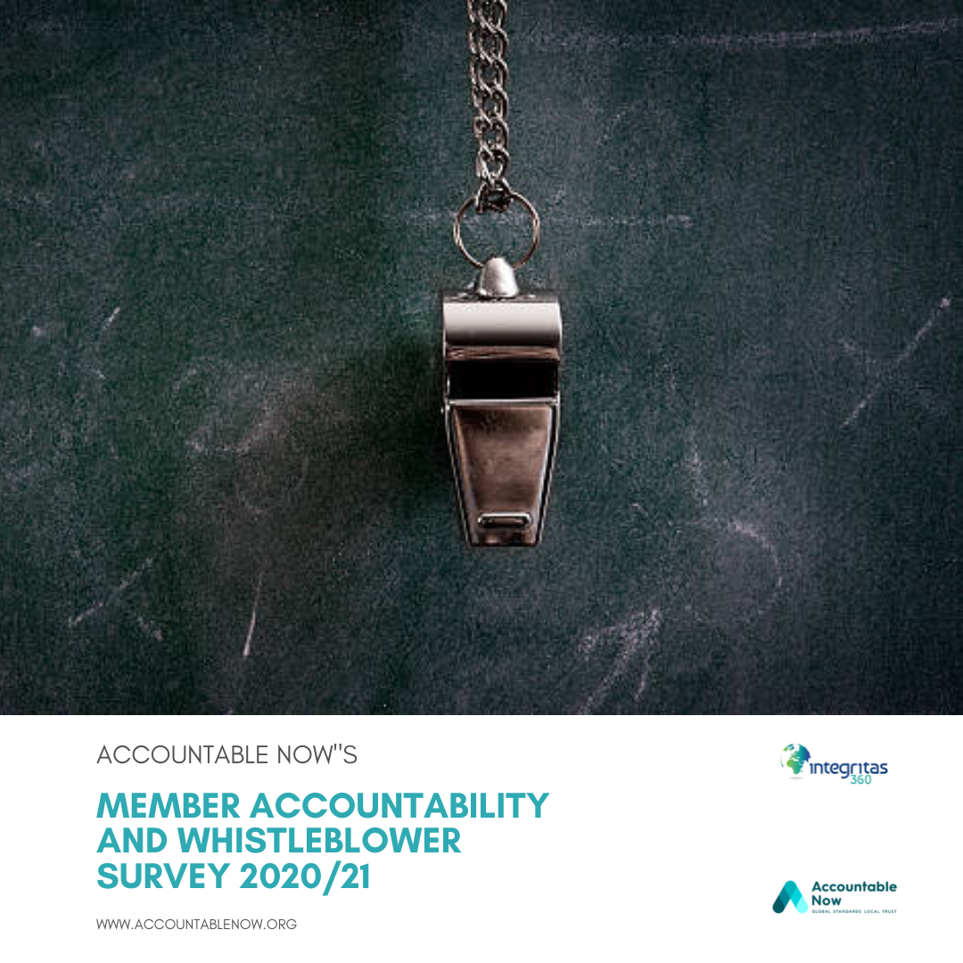 Member Accountability and Whistleblower Survey 2020/21