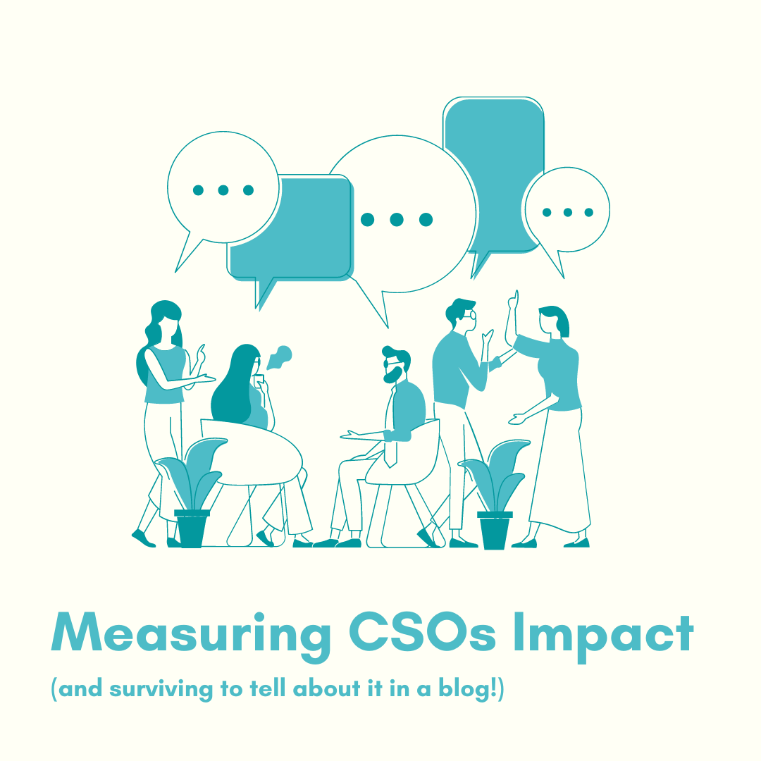 Measuring CSOs Impact (and surviving to tell about it in a blog!)